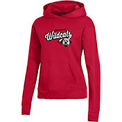 Under Armour Women's Davidson Wildcats Red All Day Pullover Hoodie