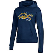 Under Armour Women's Kent State Golden Flashes Navy Blue All Day Pullover Hoodie