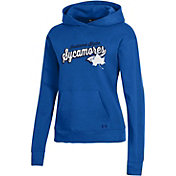 Under Armour Women's Indiana State Sycamores Sycamore Blue All Day Pullover Hoodie