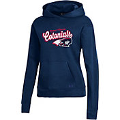 Under Armour Women's Robert Morris Colonials Navy Blue All Day Pullover Hoodie