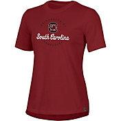 Under Armour Women's South Carolina Gamecocks Garnet Performance Cotton T-Shirt