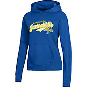 Under Armour Women's South Dakota State Jackrabbits Blue All Day Pullover Hoodie