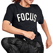 Under Armour Women's Project Rock Focus Graphic T-Shirt