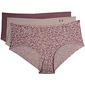 Under Armour Women's Printed Stretch Hipster Underwear – 3 pack