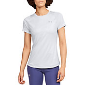 Under Armour Women's Embossed Qualifier Iso-Chill Running T-Shirt