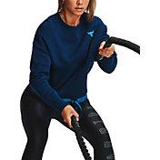 Under Armour Women's Project Rock Fleece Crewneck Sweatshirt