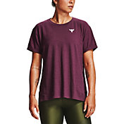 Under Armour Women's Project Rock Charged Cotton T-Shirt