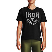 Under Armour Women's Project Rock Iron Paradise Graphic T-Shirt