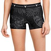 Under Armour Women's Project Rock HeatGear Shorty 3'' Shorts