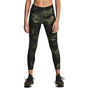 Under Armour Women's Project Rock Veteran's Day Ankle Crop Compression Leggings