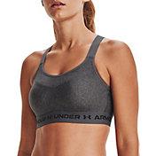 Under Armour Women's High Crossback Heathered Sports Bra