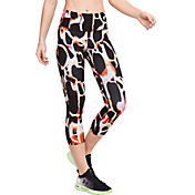 Under Armour Women's RUSH Electric Printed Crop Leggings