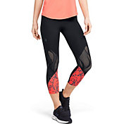 Under Armour Women's RUSH Vent Iridescent Graphic Cropped Pants
