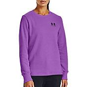Under Armour Women's Rival Fleece Crewneck Sweatshirt