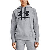 Under Armour Women's Rival Fleece Logo Pullover Hoodie