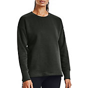 Under Armour Women's Rival Fleece EMB Crew Sweatshirt