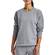Under Armour Women's Rival Fleece EMB Crew Sweatshirt