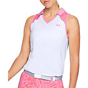 Under Armour Women's Zinger Blocked Sleeveless Polo