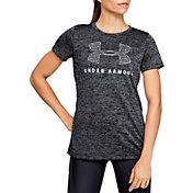 Under Armour Women's Tech Logo Graphic T-Shirt