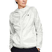 Under Armour Women's Woven Translucent Full-Zip Jacket