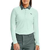 Under Armour Women's Zinger Long Sleeve Golf Polo