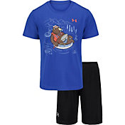 Under Armour Little Boys' Bear Tube T-Shirt and Shorts 2-Piece Set