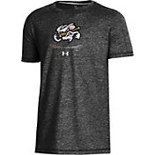 Under Armour Youth Omaha Storm Chasers Black Tri-Blend Performance T-Shirt