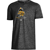 Under Armour Youth Salt Lake Bees Black Tri-Blend Performance T-Shirt