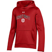 Under Armour Youth Bradley Braves Red Pullover Hoodie