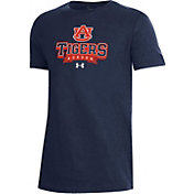 Under Armour Youth Auburn Tigers Blue Performance Cotton T-Shirt