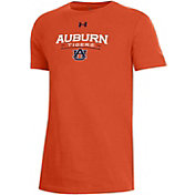 Under Armour Youth Auburn Tigers Orange Performance Cotton T-Shirt