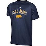 Under Armour Youth Cal Golden Bears Blue Tech Performance T-Shirt