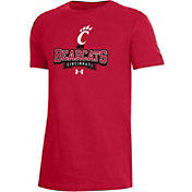 Under Armour Youth Cincinnati Bearcats Red Performance Cotton T-Shirt