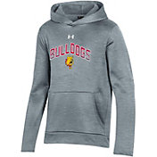 Under Armour Youth Ferris State Bulldogs  Grey Pullover Hoodie