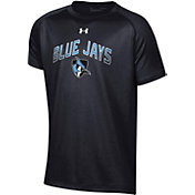 Under Armour Youth Johns Hopkins Blue Jays Tech Performance T-Black Shirt