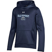 Under Armour Youth Old Dominion Monarchs Blue Armour Fleece Pullover Performance Hoodie