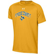 Under Armour Youth McNeese State Cowboys Gold Tech Performance T-Shirt