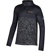 Under Armour Youth South Carolina Gamecocks Twist Quarter-Zip Performance Black Shirt