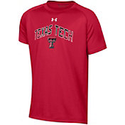 Under Armour Youth Texas Tech Red Raiders Red Tech Performance T-Shirt