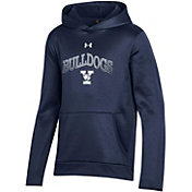 Under Armour Youth Yale Bulldogs Yale Blue Pullover Hoodie