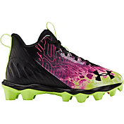 Under Armour Kids' Spotlight Franchise Drip RM Football Cleats