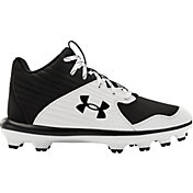 Under Armour Kids' Yard TPU Mid Baseball Cleats