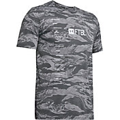 Under Armour Boys' Camo Yards Football T-Shirt