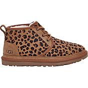 UGG Women's Neumel Leopard Sheepskin Boots