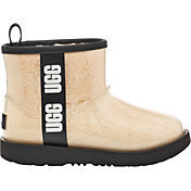 UGG Kids' Classic Clear Mini II Sheepskin Boots