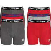 Umbro Boys' Performance Boxer Briefs – 6 Pack