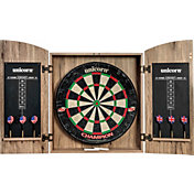 Unicorn Bristle Dartboard Champion Cabinet Set