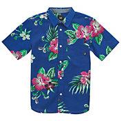 Vans Men's Trap Floral Button Down T-Shirt