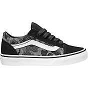 Vans Kids' Grade School ComfyCush Old Skool Camo Shoes
