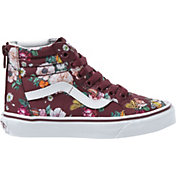 Vans Kids' Grade School Floral SK8-Hi Zip Shoes